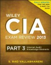 Wiley CIA Exam Review 2013, Internal Audit Knowledge Elements: Volume 3 (Wiley CIA Exam Review Series) - S. Rao Vallabhaneni