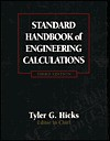 Standard Handbook of Engineering Calculations - Tyler G. Hicks, S. DAVID HICKS