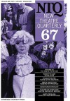 New Theatre Quarterly 67: Volume 17, Part 3 - Clive Barker, Simon Trussler