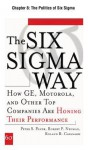 The Six SIGMA Way, Chapter 8 - The Politics of Six SIGMA: Preparing Leaders to Launch and Guide the Effort - Peter S. Pande, Roland R. Cavanagh, Robert P. Neuman
