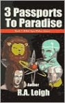 3 Passports to Paradise - R. Leigh, Lance Card