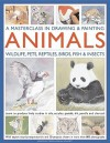 A Masterclass in Drawing & Painting Animals: Wildlife, Pets, Reptiles, Birds, Fish & Insects - Jonathan Truss, Sarah Hoggett