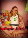 Cutie Kittie Book 42: Bubbly Blonde Babe - R.A. Ravenhill