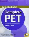 Complete Pet for Spanish Speakers Teacher's Book - Emma Heyderman, Peter May, Rawdon Wyatt, Camilla Mayhew