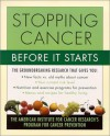 Stopping Cancer Before It Starts: The American Institute for Cancer Research's Program for Cancer Prevention - American Institute for Cancer Research