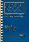 Handbook for Matrix Computations - Charles F. Van Loan, Thomas F. Coleman