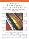 Scales, Chords, Arpeggios and Cadences: Basic Book - Alfred Publishing Company Inc.