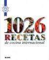 1026 recetas de cocina internacional - Le Cordon Bleu