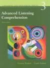 Advanced Listening Comprehension: Developing Aural and Notetaking Skills, 3rd Edition (Listening and Notetaking Skills, No. 3) - Patricia Dunkel, Frank Pialorsi
