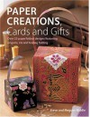 Paper Creations, Cards and Gifts: Over 35 Paperfolded Designs Featuring Origami, Iris and Teabag Folding - Steve Biddle, Megumi Biddle