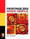 FrontPage 2000 Made Simple - Nat McBride