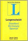 Standard Spanish Dictionary (Langenscheidt Standard Dictionaries) (Spanish Edition) - Langenscheidt