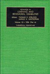 Advances in Learning and Behavioral Disabilities 1996: Theoretical Perspectives (Advances in Learning and Behavioral Disabilities) - Thomas E. Scruggs