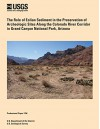 The Role of Eolian Sediment in the Preservation of Archeologic Sites Along the Colorado River Corridor in Grand Canyon National Park, Arizona - U.S. Department of the Interior