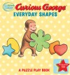 Curious Baby Everyday Shapes Puzzle Book: A Puzzle Play Book - H.A. Rey, Greg Paprocki, Joyce White