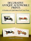 Decorative Antique Automobile Prints: A Portfolio of 6 Self-Matted Full-Color Prints - Clarence P. Hornung