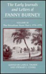 The Early Journals and Letters of Fanny Burney: Volume III: The Streatham Years: Part 1, 1778-1779 - Lars E. Troide, Stewart J. Cooke, Steward J. Cooke