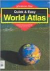 American Map: Quick and Easy World Atlas - American Map Corp.