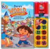 Nick Jr Dora's World Adventures Storybook and Binocular Viewer (Dora the Explorer) - Reader's Digest Association, Valerie Walsh, Ruth Koeppel