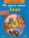 Leer Preescolar Nivel B - Editors of Larousse (Mexico)