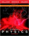 Fundamentals of Physics, Part 2, Chapters 13 - 21, Enhanced Problems Version - David Halliday, Robert Resnick, Jearl Walker