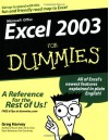 Excel 2003 For Dummies - Greg Harvey
