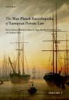 Max Planck Encyclopedia of European Private Law - Jürgen Basedow, Klaus J. Hopt, Reinhard Zimmermann