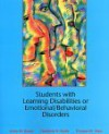 Students with Learning Disabilities or Emotional/Behavioral Disorders - Anne M. Bauer, Thomas M. Shea