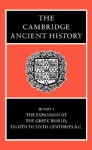 The Cambridge Ancient History, Vol 3, Part 3: The Expansion of the Greek World, 8-6th Centuries BC - John Boardman, Nicholas Geoffrey Lemprière Hammond