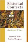 Rhetorical Contexts - Charles David Miller, Lou Thompson
