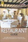 AA The Restaurant Guide 2007 - Martin Knowlden