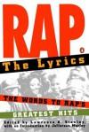 Rap: The Lyrics - Jefferson Morley, Lawrence A. Stanley
