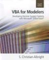 VBA for Modelers (4th, 12) by Albright, S Christian [Paperback (2011)] - Albright