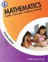 Math Workbooks: Mathematics: Skills, Concepts, Problem Solving Level A - 1st Grade - continental press