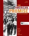 The American Promise: A Concise History, Combined Volume - James L. Roark, Michael P. Johnson, Patricia Cline Cohen, Susan M. Hartmann, Sarah Stage