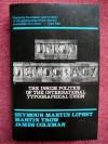 Union Democracy - Seymour Martin Lipset