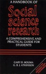 A Handbook of Social Science Research - Gary D. Bouma, G.B.J. Atkinson