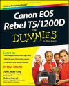 Canon EOS Rebel T5/1200D For Dummies - Robert Correll