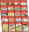 THE MAGIC SCHOOL BUS READER COMPLETE 20-BOOK SET (Scholastic Readers, Level 2) (The Magic School Bus . . . The Wild Leaf Ride, Sleeps for the Winter, Lost in the Snow, Flies from the Nest, Takes a Moonwalk, Arctic Adventure, Has a Heart, Gets Crabby, Flie - Anne Capeci, Joanna Cole, Kristin Earhart, Kate Egan, Gail Herman, Jeanette Lane, Eva Moore, Martin Schwabacher, Judith Stamper, Elizabeth Smith, Carolyn Bracken, Robbin Cuddy, Bruce Degen, Ted Enik