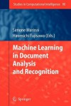Machine Learning in Document Analysis and Recognition - Simone Marinai, Hiromichi Fujisawa