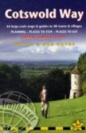 Cotswold Way, 2nd: British Walking Guide with 44 large-scale walking maps, places to stay, places to eat - Bob Hayne, Tricia Hayne