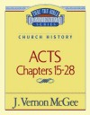 Acts Chapters 15- 28 - J. Vernon McGee