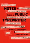 Notes from a Public Typewriter - Michael Gustafson, Oliver Uberti
