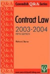 Contract Law Q&A 2003-2004 - Richard Stone