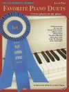 Favorite Piano Duets / Volume 1 - Level 2 - Carole Flatau