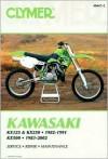 Clymer Kawasaki Kx125 & Kx250, 1982-1991, Kx500, 1983-2002 - Ron Wright