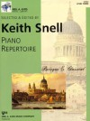 GP603 - Piano Repertoire: Baroque & Classical Level Three - Keith Snell