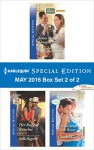 Harlequin Special Edition May 2016 - Box Set 2 of 2: James Bravo's Shotgun BrideHer Rugged RancherThe Bachelor's Little Bonus (The Bravos of Justice Creek) - Christine Rimmer, Stella Bagwell, Gina Wilkins