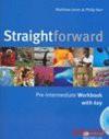 Straightforward Pre-intermediate. Workbook - Matthew Jones, Philip Kerr