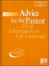 USP DI Advice for the Patient, Volume 2: Drug Information in Lay Language - Physicians Desk Reference, Thomson
